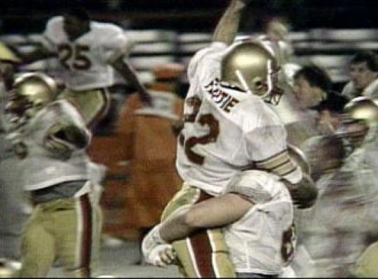 Doug Flutie Hail Mary